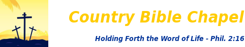 Country Bible Chapel Logo